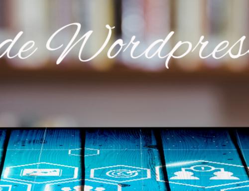 Mises à jour et sauvegardes wordpress