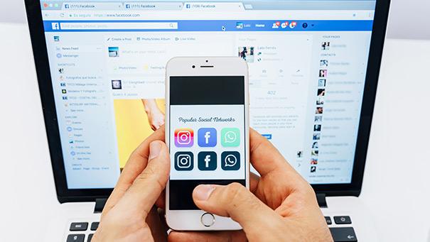Campagne sociale média Facebook
