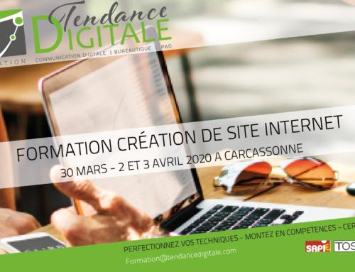 Formation création de site internet avec WordPress 3 jours – 30 mars et 2-3 avril 2020 à Carcassonne